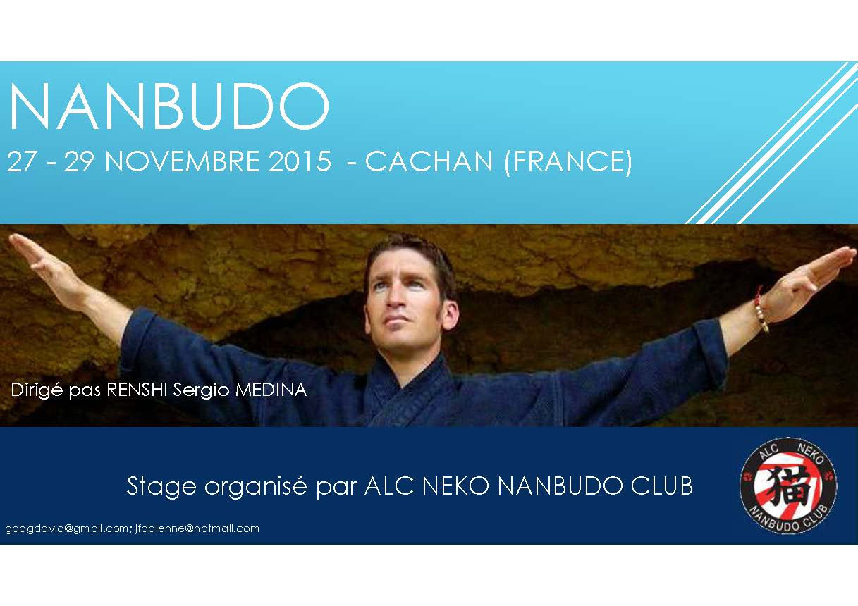 Stage Renshi Sergio Medina