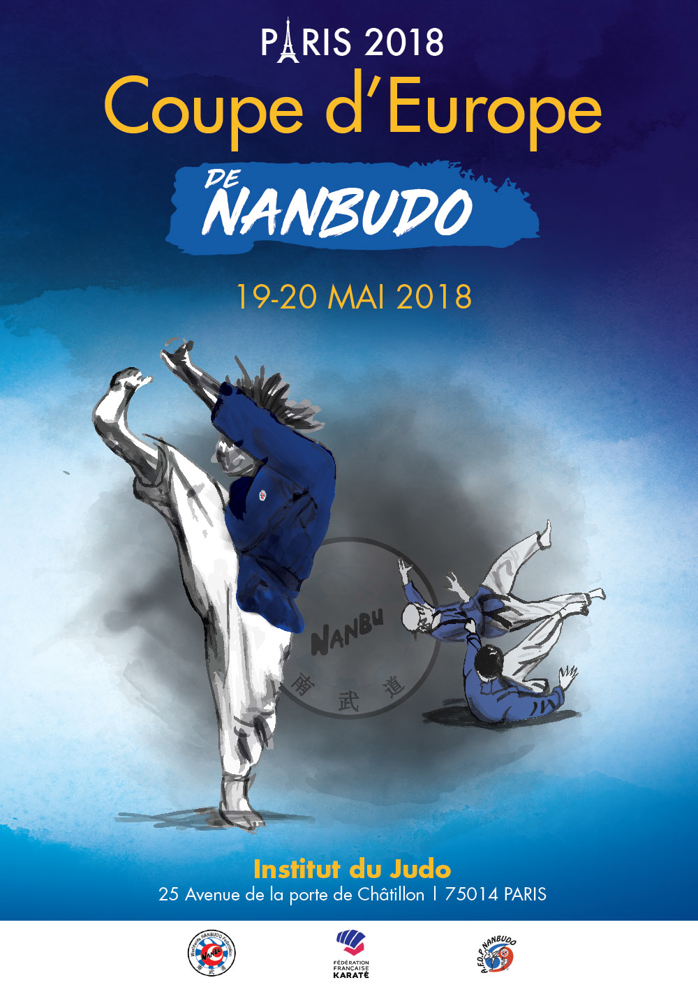 COUPE D'EUROPE DE NANBUDO